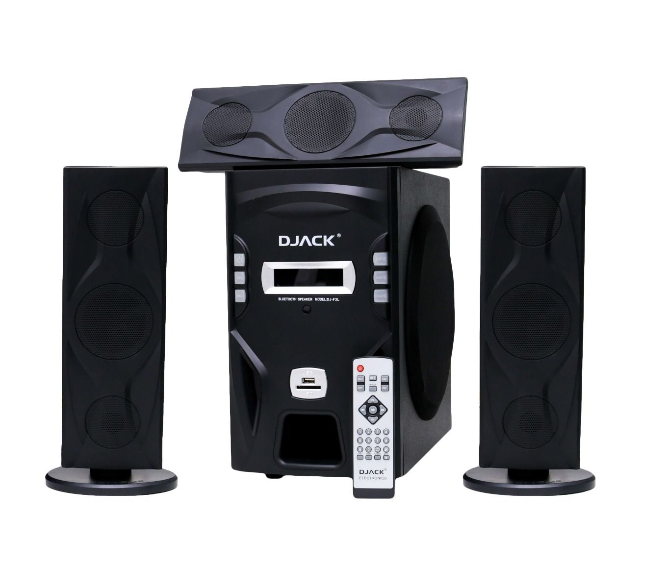 DJACK 3.1 X-Bass Hi-Fi Multimedia Speaker System - DJ-T3L